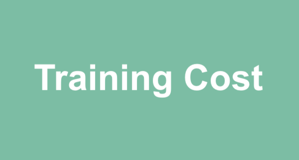 Read more about the article Training Cost As From 1st April 2021