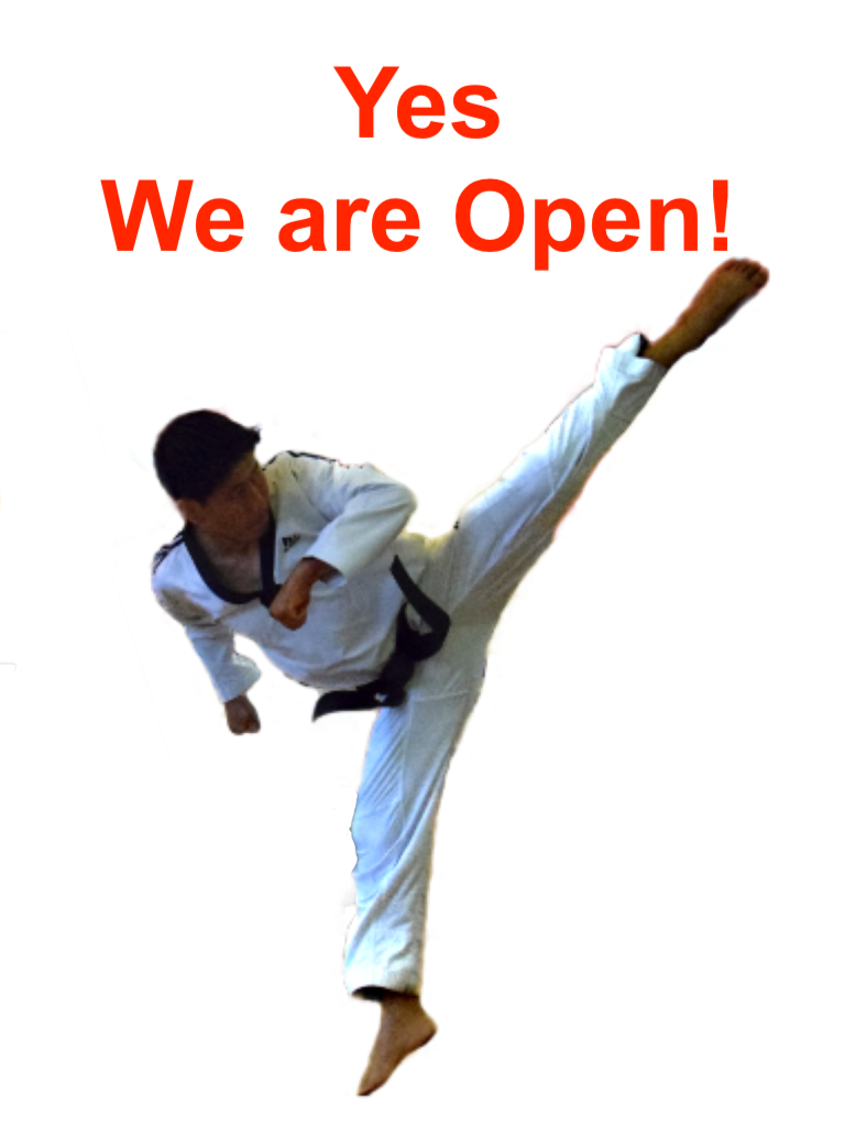 Way Taekwondo is Opening Indoor Classes Form Today | 13th April 2021